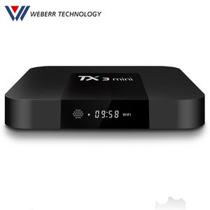 Weberr Amlogic S905W 4K 2GB Ram 16GB ROM Android 7.1 Tv Box Tx3 Mini