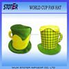 Brazil Fans Hats /Beer Mug Football Fans Hats--73