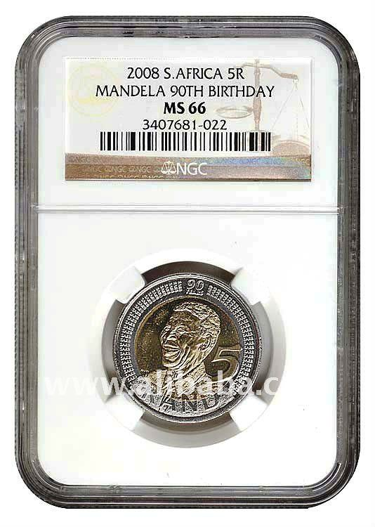 2008 Mandela 90th Birthday coin