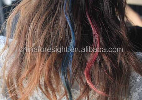 hottest multicolore temporairepeigne pour teindre les cheveuxcraie cheveux peigne - Coloration Cheveux Craie
