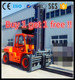 forklift brake master cylinder blue light forklift promotional price 12T heavy duty diesel forklift truck for sale with CE, ISO