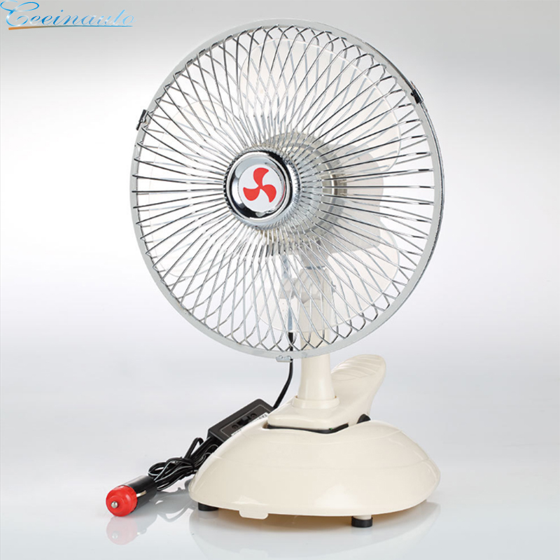 fan for car with semi-enclosed grille for bus trucks