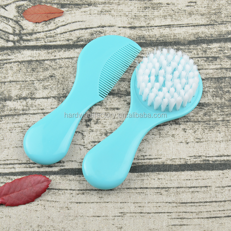 best selling products baby wooden hair brush and comb set from chinese supplier