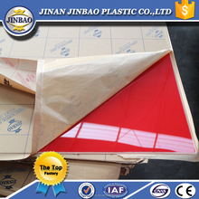 jinbao shiny solid surface a grade color decorative cabinet acrylic panel