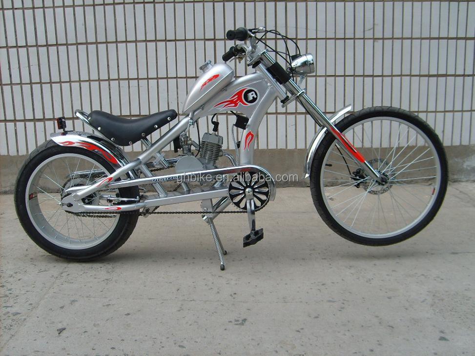 Gas Motor Chopper Bike 50cc Motorized Chopper Bike Bicycle