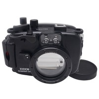 Mcoplus X-100S 40m/130ft Underwater Waterproof Camera Housing Case for Fuji X100S Camera with Accurate Alarm Buzzer