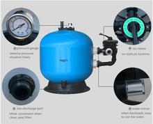 High Quality Fiberglass Swimming Pool Quartz Sand Filter Swimming Pool Water Filtration System