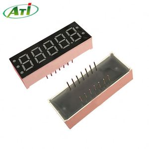 ATI-5651 0.56'' 5 digit 7 segment LED display screen size 63*19mm green