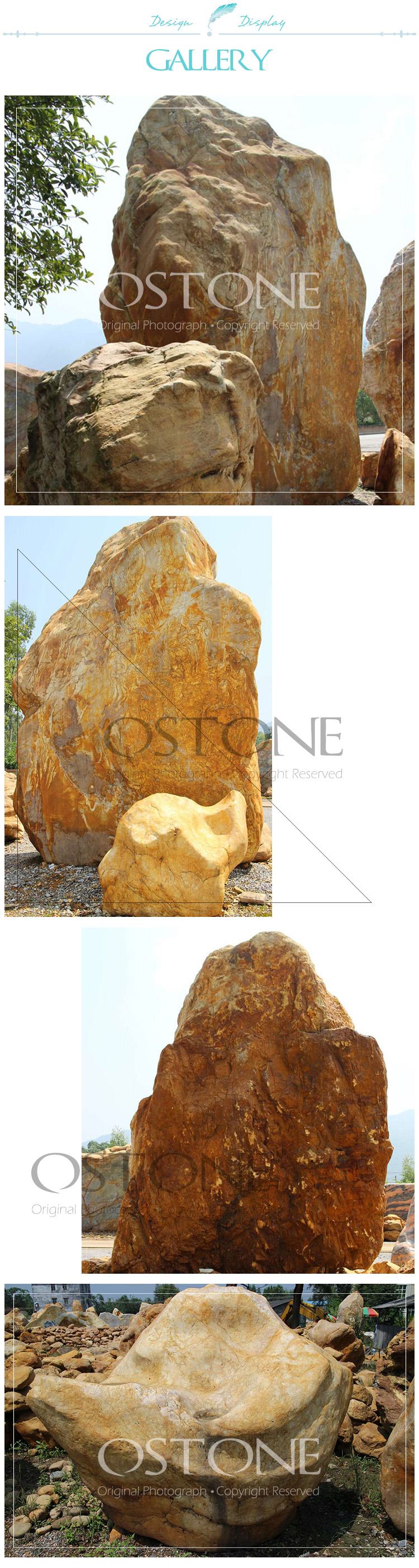 Large Natural Chrismatite Landscape Rock Decorative Stones For Garden