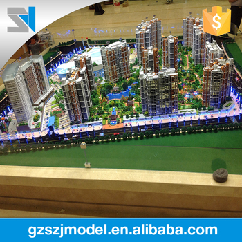 Multi Storey Building Model For Property Investment,House Model Kits - Buy  House Model Kits,Crystal 3d Model,Architectural Scale Models Figures