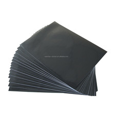 Light Black PVC A4 Waterproof Sticker Paper