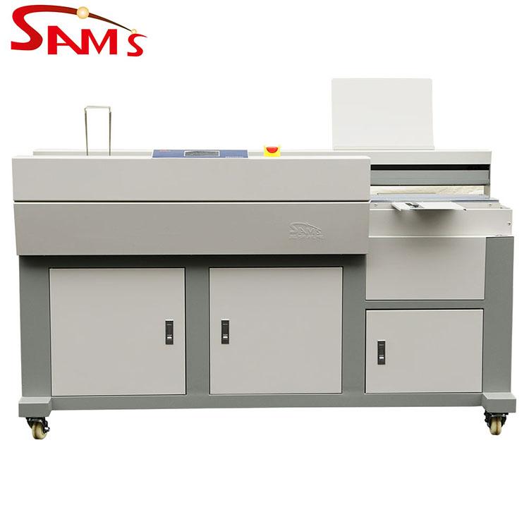 A3+ Single Clamp Perfect Binder Glue Book Binding Machine
