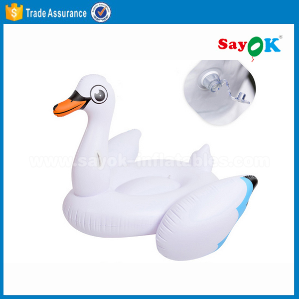 Superior Giant Inflatable Swan Pool Float For Swimming Pool