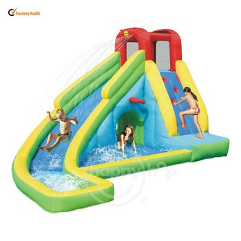 happy hop inflatable water slide 9027 water slide fun zone