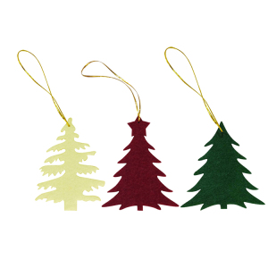 Cheap Christmas Tree Decoration Various Patterns Christmas Hanging Ornament