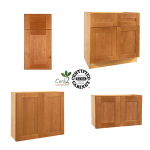 American Solid Wood Assemble Modular Apartment Kitchen Cabinet