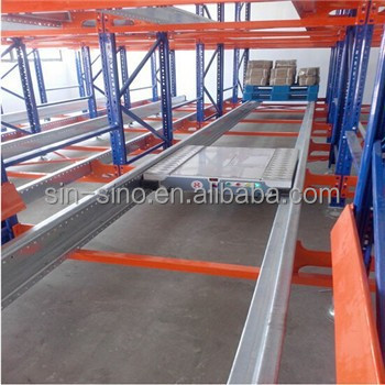 Automated storage system,storage racking system