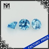 17 Years' Experiences Manufacturing Synthetic Aqua CZ Micro Pave Beads