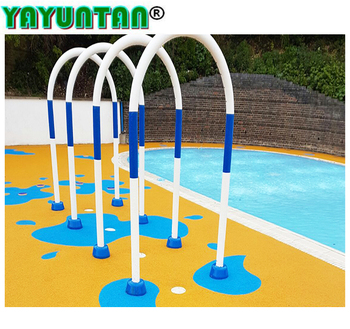 Color Epdm Rubber Granule For Water Park Flooring Outdoor Rubber