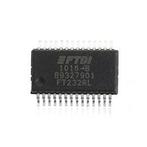 FT232 FT232R FT232RL IC USB TO SERIAL UART 28-SSOP FTDI Chip