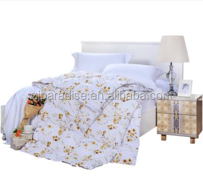 Double White Home And Hotel Duvet Cover Sets 100% Cotton Bedding Sets Queen Comforter