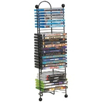Metal Multiple Rack CD DVD Display Stand
