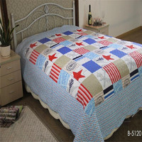 children bedding set cotton soft quilt for boy and baby use