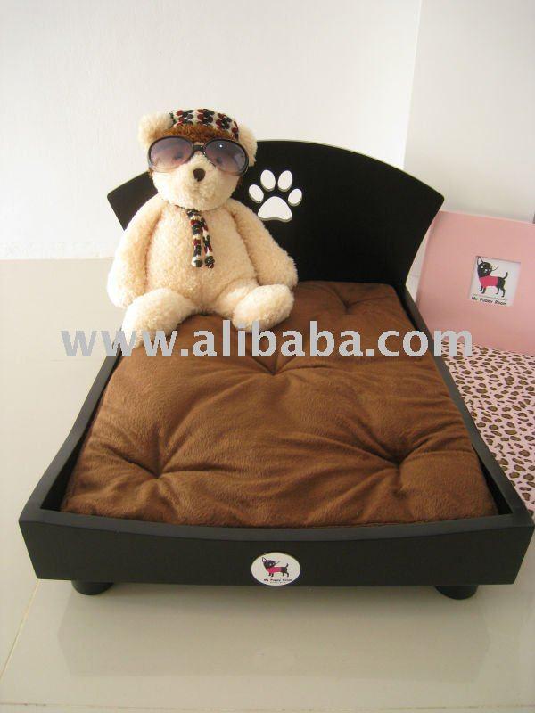 Cama del perro de madera mejor para perros peque os camas - Camas para perros de madera ...