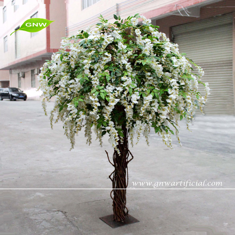 China Artificial Wisteria Flowers Tree Plant Manufacturers And Suppliers On Alibaba