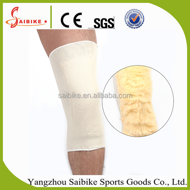 SBK 103 Inside thicken keep warm winter knee sleeve padded leg sleeve for sports