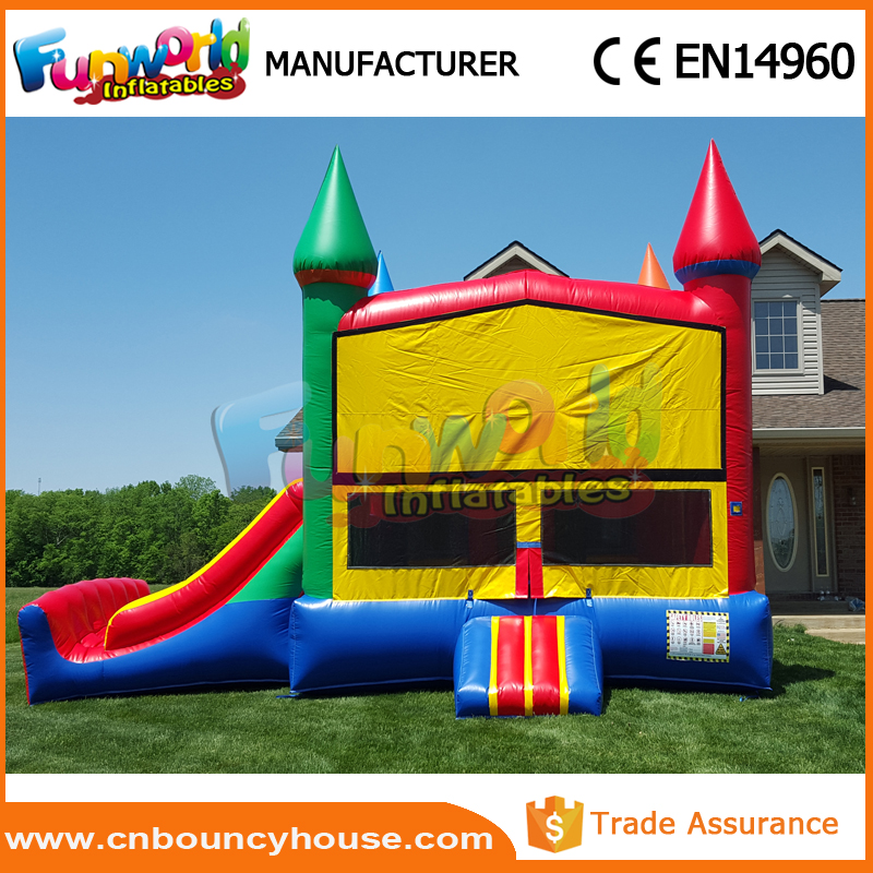 Inflatable bouncy castle jump bouncer pirate ship bounce house
