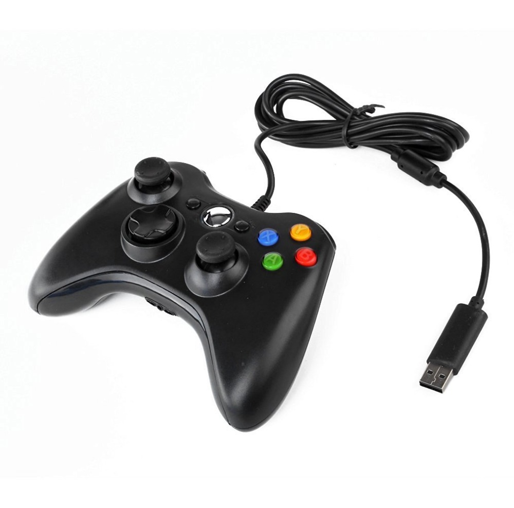 Generic Wired Controller With Vibration Feedback For XBOX 360 Console And Windows PCs