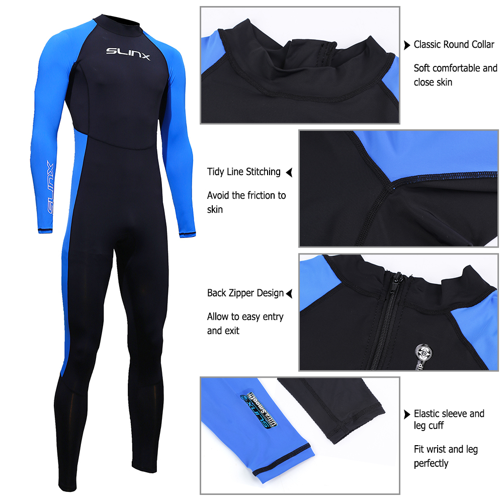 Full Body Diving Suit Men Women Scuba Diving Wetsuit Swimming Surfing UV Protection Snorkeling Spearfishing Wetsuit