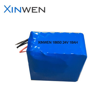 XW 18650 battery pack 7S7P 24v 18Ah
