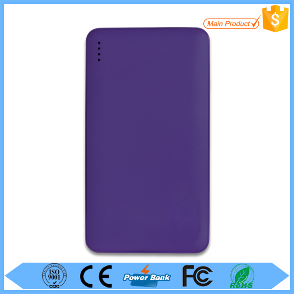 wholesale 2016 new style 5000mAh 5200mAh 5600MAH power bank , cellphone lover portable charger