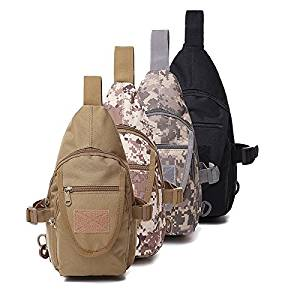 Discreet Chest Body Sling Single Shoulder Tactical Bag Waterproof Molle Military Backpack Men Fishing Hiking Hunting Bags Sport Bag Camping & Hiking