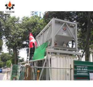 portable used cement silo in china for sale