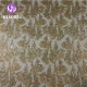 New fashion high quality gold cord tulle mesh sequin embroidery lace fabric thailand for dress