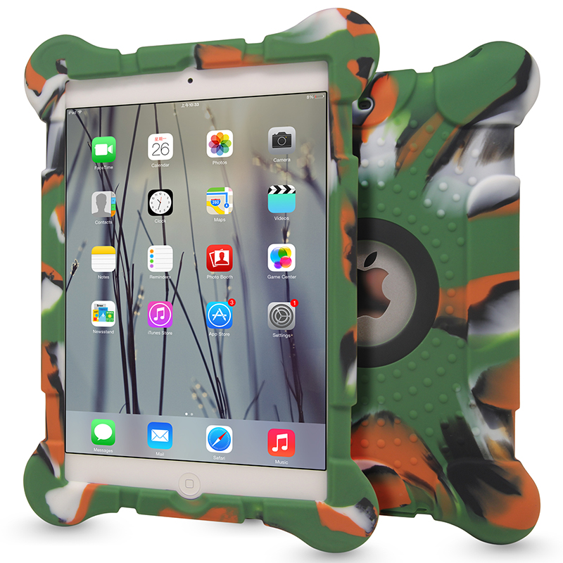 Hot Sale Shock Proof Tablet PC Case Silicon Cover for Apple iPad Mini 1 2 3