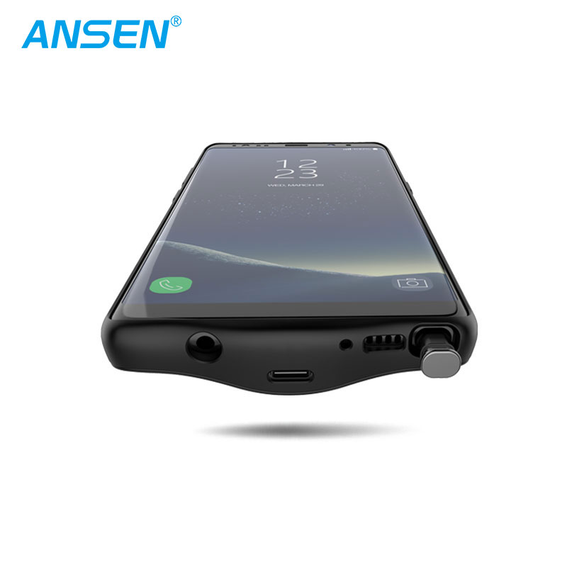 detailed look 78ea3 2635d Wireless Charger Slim Power Bank For Samsung Note8 External Backup Battery  Charger Case Mobile Portable Power Bank - Buy Slim Power Bank,Backup ...
