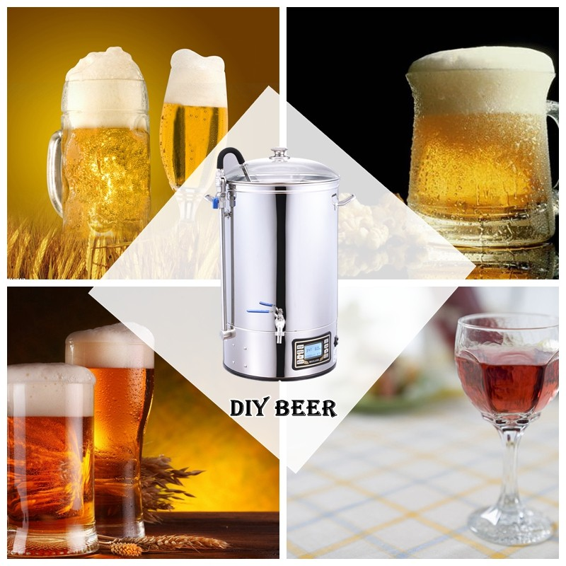 Craft Beer Maker / Craft Beer Equipment/ Home Brewing Mash Tun/ Mash Tun/Beer mash tun all in one