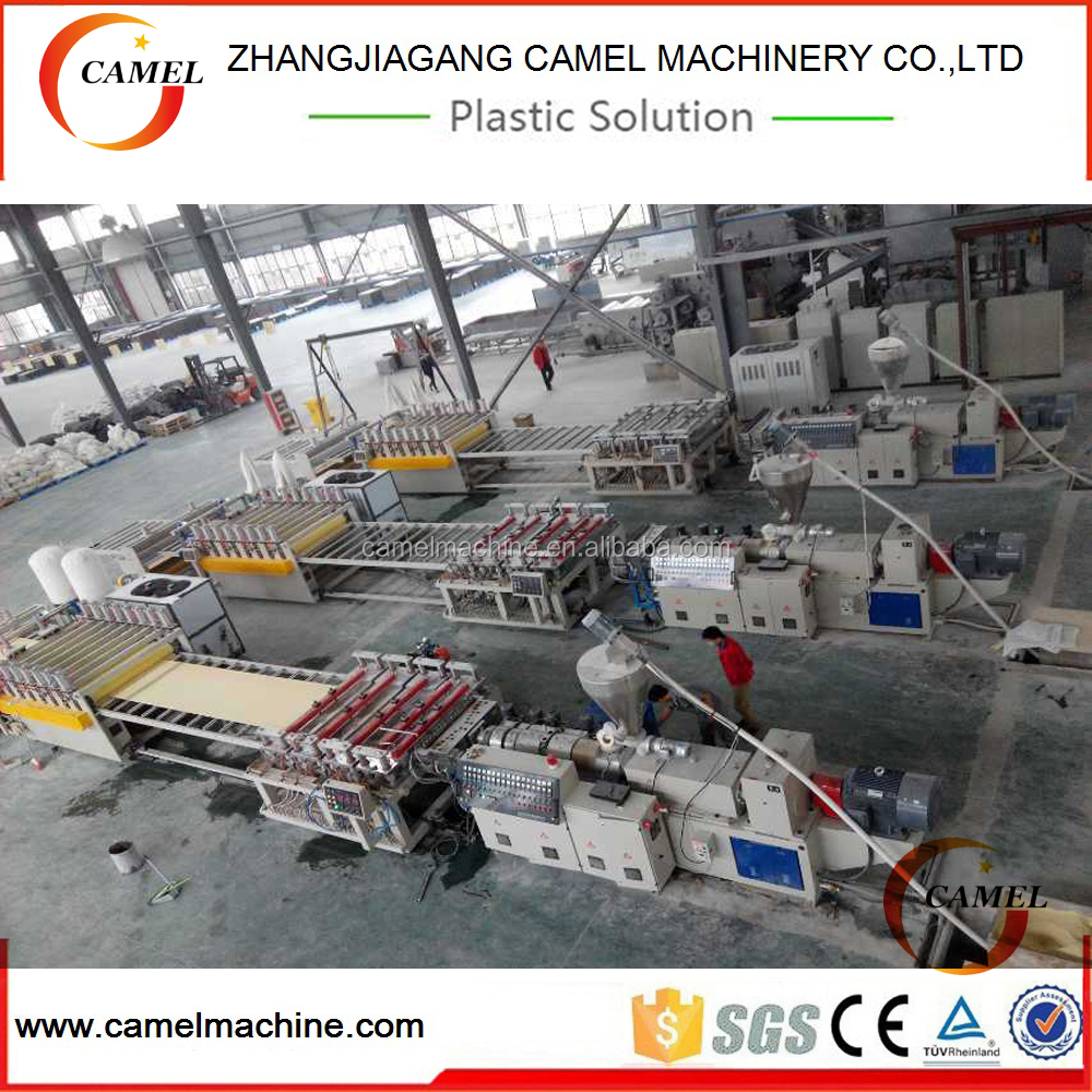 PVC Foam Board making machine / PVC Crust Foam BoardProduction <strong>Line</strong>