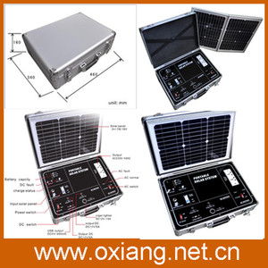 2015 China new products flexible solar panels portable solar generator system