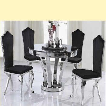 Solid Rectangle White Marble Dining Table