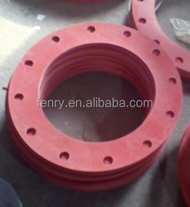 RED RUBBER NEOPRENE GASKET FOR FLANGE