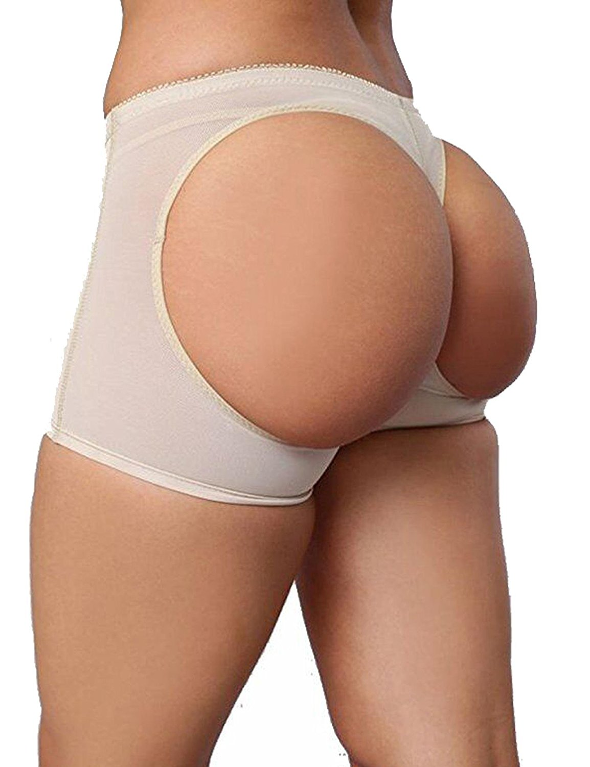 7b07ef7e2 Get Quotations · PEATAO Women Butt Lifter Shaper Bum Lift Pants Buttocks  Enhancer Boyshorts