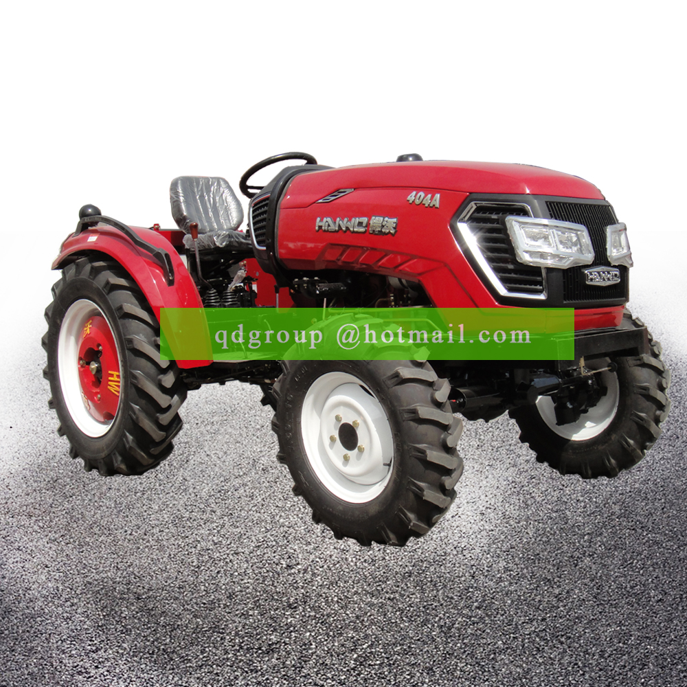 Preço bset 4*4 agricultura 4wd mini trator 40hp 4wd