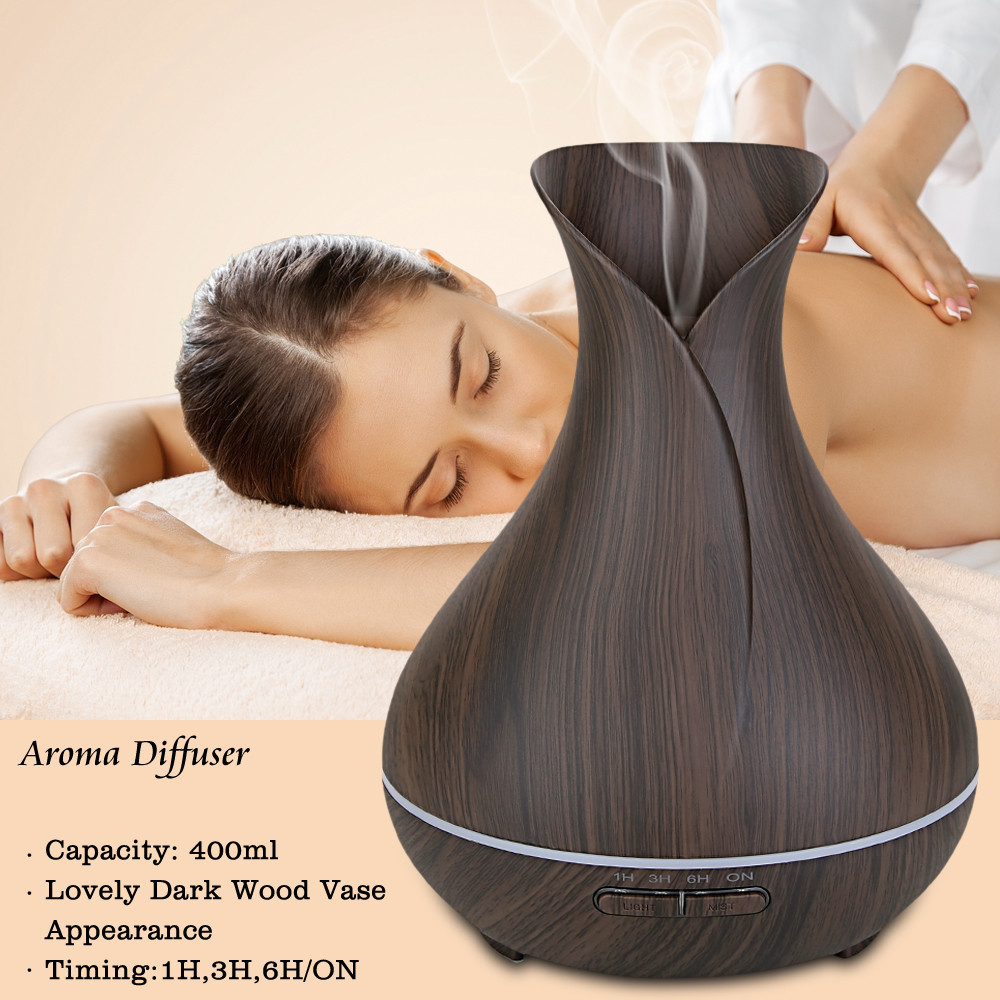 High quality wooden essential oil diffuser/air purifier new products 2017