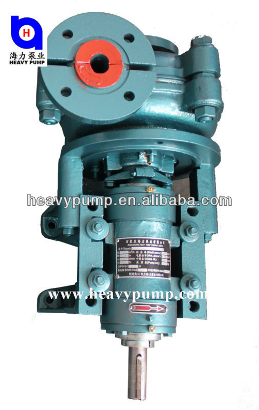 ISO9001 horizontal slurry pump for coal-mining industry