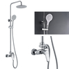 foshan factory fashion bathroom hand power cheap shower set